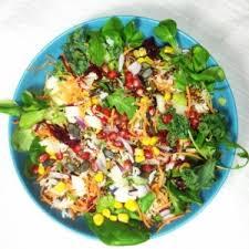 cuisine bio vitalité salade bio arc en ciel vitalité saveurs couleurs au menu