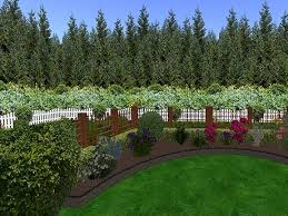 Flowering Privacy Shrubs - second life marketplace garden privacy screen of fir trees
