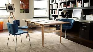 Wood Dining Room Table Sets Coalesse Ch327 Dining Table U0026 Office Desk Steelcase