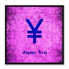japan money currency decorative home decor wall art souvenir gift