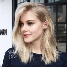 blonde hair is usually thinner 40 most flattering medium length hairstyles for thin hair style