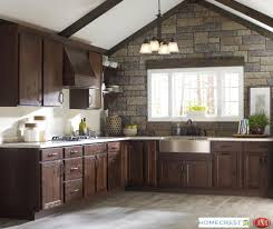 Rustic Hickory Kitchen Cabinets Homecrest Cabinetry Our Value Leader For Your Kitchen Or Bath Cabinets