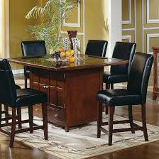 dining tables long bar table bar height table and chairs 9 piece