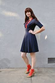blue dress black heels or red best dress today