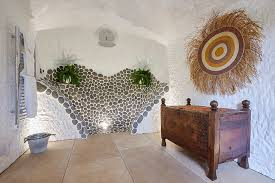 cave bathroom home design grand designs spends 100k carving a cave into his house