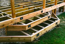 building deck stairs to build deck stairs simply to build
