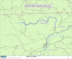 Map Of Southwest Virginia by Virginia Deq Exceptional State Waters Tier Iii