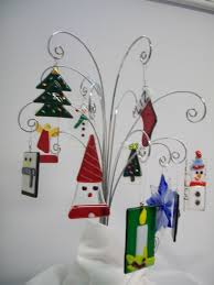 friends out fused glass ornaments class 16