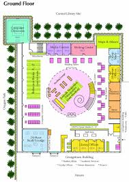 floor plan finance library floorplan georgetown university qatar library
