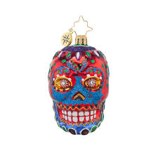 christopher radko ornaments radko la calavera skull little gem