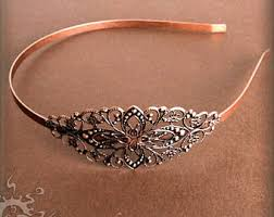 metal headband metal headbands etsy