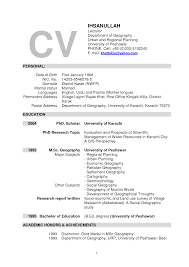 lecturer resume example college curriculum what is cover letter
