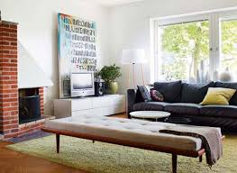 Small Living Room Ideas Apartment Small Apartment Living Room Square Black Finish Wooden Coffee