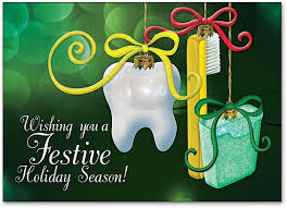 dental ornaments customizable postcard smartpractice dental