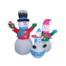 led snowman outdoor decorations you ll wayfair