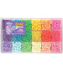 bead bracelet maker images Giant bead box kit 2300 beads pkg pastel jelly joann jpg