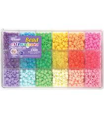 giant bead box kit 2300 beads pkg pastel u0026 jelly joann