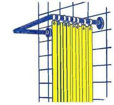 supporto tenda doccia doccia asta bastone tende supporto per tenda doccia 80x80x80