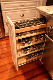 cabinet kitchen cabinet pull out spice rack the best pull out