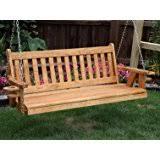 amazon com new grade a teak porch garden 4 5 feet swing chair
