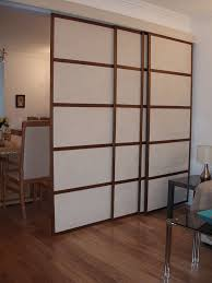 Sliding Door Room Divider with Invigorating Silversteel Frame On Black Looks As Wells As Tall
