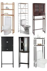 Cabinet That Goes Over Toilet Best 25 Over Toilet Storage Ideas On Pinterest Diy Bathroom