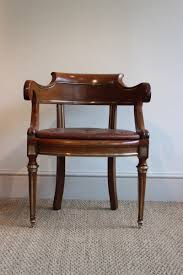 Antique Swivel Office Chair by Antique French Mahogany Desk Chair For Sale At Pamono