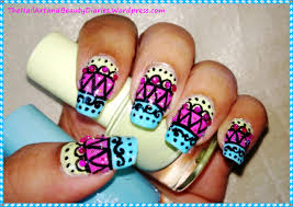 the jewellery inspired nail art with indian attire touch the