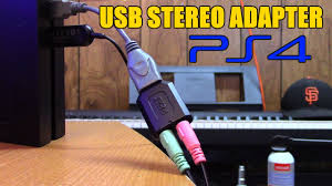 home theater adapter free your controller usb stereo adapter for ps4 headsets by