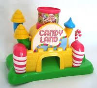 candyland castle hasbro candy land castle shapes colors matching ebay