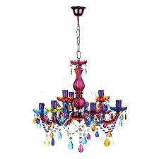 Colored Chandelier Chandelier Multi Colored Wecanhelpyou Info