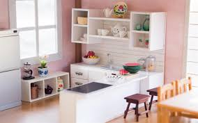 Dollhouse Furniture Kitchen Diy Dollhouse Miniature Kitchen For Nendoroid Dolls U0026 Action