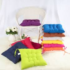 online get cheap chair pads aliexpress com alibaba group new 40 40cm square seat chair pad cushion pearl cotton colorful chair cusion cushions home