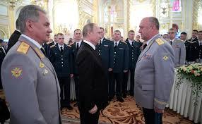 vladimir putin military reception in honor of graduates of military academies military