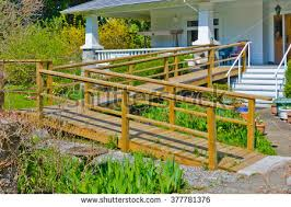 Wheelchair Ramp Handrails Wheelchair Ramp Stock Images Royalty Free Images U0026 Vectors
