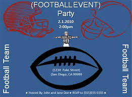 free football event flyer template free online flyers