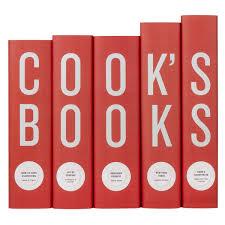 cook s books cookbook set in custom printed covers juniper books
