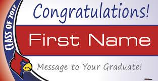 congratulations graduation banner signmaster graduation banners