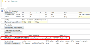 sql server create table primary key create table with primary key in sql server exle crazy geek s blog
