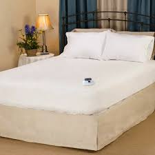 safe low voltage softheat heated electric mattress pads at discount