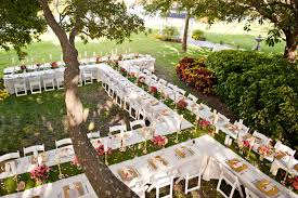 outdoor wedding venues top 6 garden wedding venues florida davis island garden club002