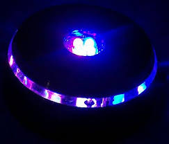 led light base for crystal 3d laser crystal led light base ufo 4 led light base