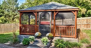 gazebo on patio to install screened gazebo kits design home ideas