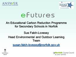 Norfolk County Council Committee System An Educational Carbon Reduction Programme For Secondary Schools In
