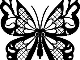 decor font butterfly girl pattern wall full size decor font butterfly girl pattern