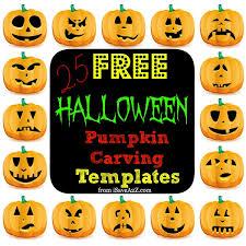 Martha Stewart Halloween Pumpkin Templates - 25 easy free halloween pumpkin carving templates isavea2z com