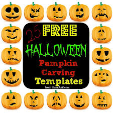 25 easy free halloween pumpkin carving templates isavea2z com