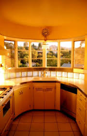 kitchen 46198069 bright art deco kitchen design glass front