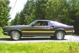 Black Classic Mustang 1969 Mustang Mach 1 351w M Code Black Jade Beauty Photo 1 1969