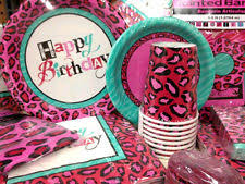 cheetah print party supplies pink cheetah print party supplies cheetah print birthday